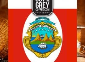 Out of the Grey Coffee Organic Costa Rican Lomas Al Rio Honey SHB Whole Bean Medium Roast Coffee 12oz