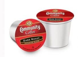 Community Coffee Signature Blend Dark Roast K cups®  18ct