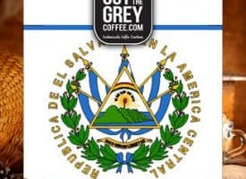 Out of the Grey Coffee Organic El Salvador SHG Whole Bean Medium Roast Coffee 12oz