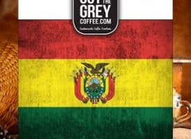 Out of the Grey Coffee Organic Feminino Bolivian Whole Bean Medium Roast Coffee 12oz