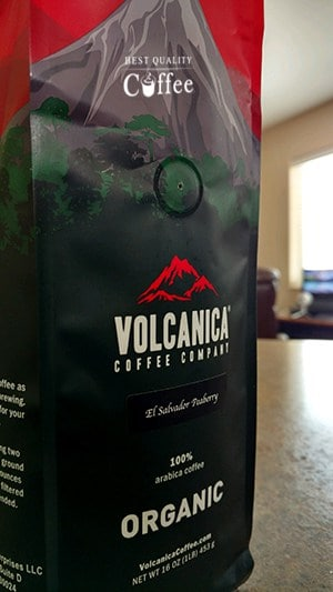 Volcanica Peaberry Coffee
