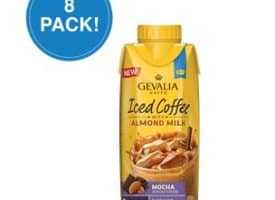 Gevalia Mocha Iced Coffee with Almond Milk 11.1oz 8 Pack