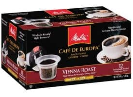 Melitta Coffee Vienna Roast Dark Roast K cups®  12ct