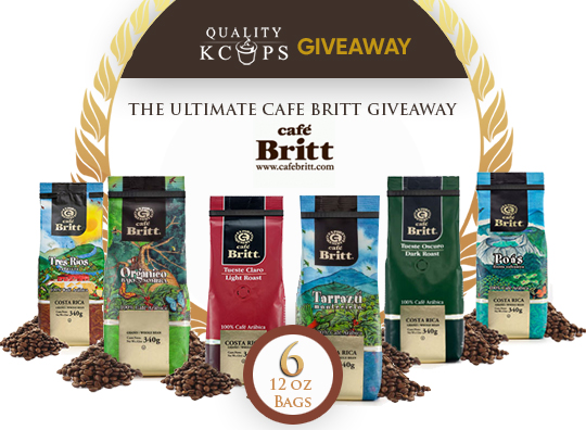 Cafe Britt Coffee Giveaway - Best Quality Coffee