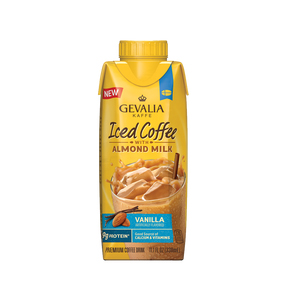 Gevalia Vanilla Iced Coffee with Almond Milk 11.1oz