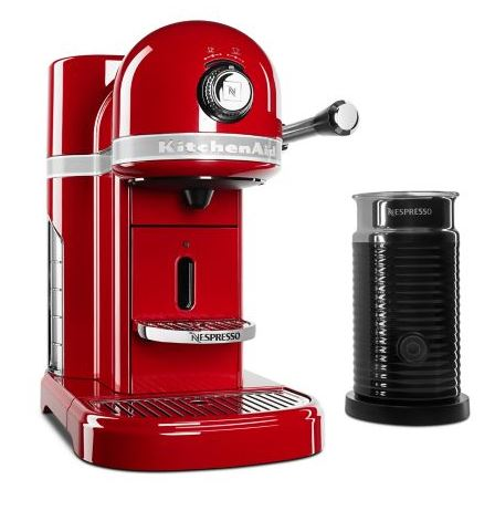 Kitchen Aid Nespresso Espresso Machine with Milk Frother