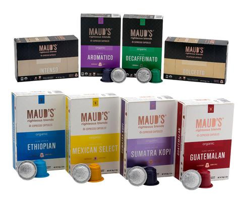 Maud's Righteous Blends Variety Pack Dark Roast 160ct