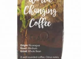 Three Avocados Nicaragua Whole Bean Medium Roast Coffee 12oz