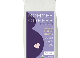 Mommee Coffee Full Caff Organic Ground Medium Roast Coffee 12oz