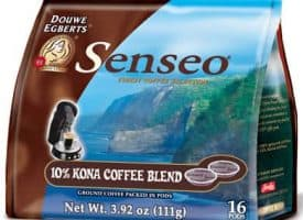 Senseo Kona Blend Medium Roast Coffee Pods 96ct