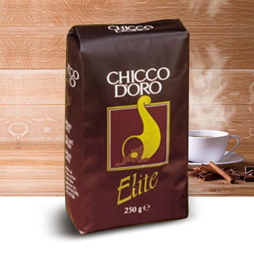 Caffe Chicco D'Oro Elite Whole Bean Dark Roast Coffee 176oz Bulk