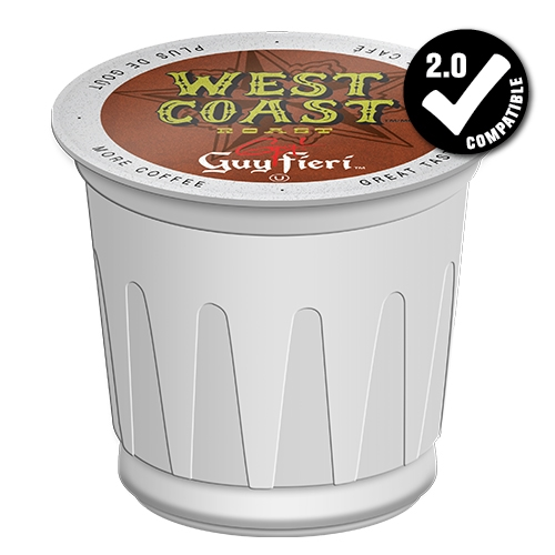 Guy Fieri West Coast Roast Dark Roast Extra Bold K Cup 24ct