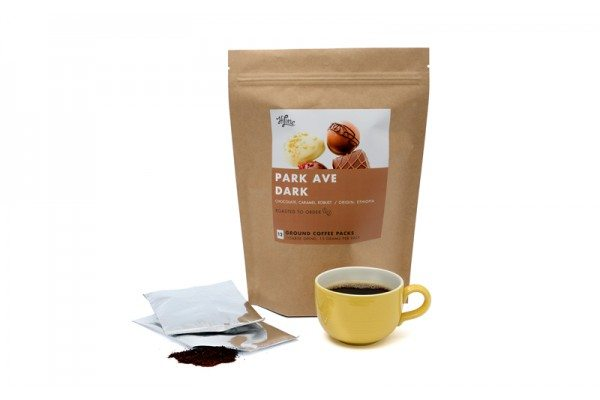 HiLine Coffee Park Ave Ground Dark Roast Coffee 6oz