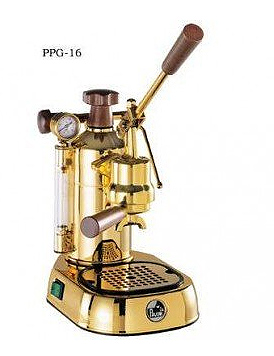La Pavoni Espresso Machine Gold Professional