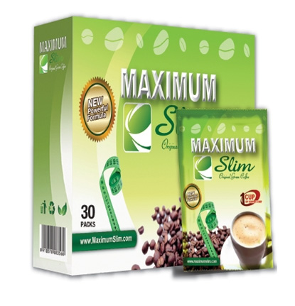 Maximum Slim Original Green Medium Roast Coffee 30ct