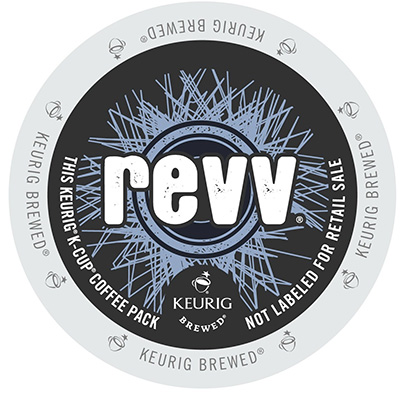 Revv Original Dark Roast Extra Bold K cups® 22ct