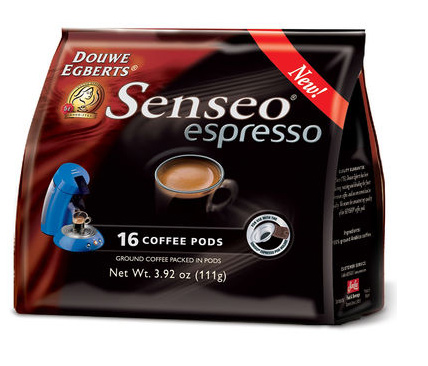 Senseo Origins Espresso Blend Dark Roast Coffee Pods 96ct