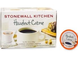 Stonewall Kitchen Hazelnut Creme Medium Roast Single Serve Cups 12ct