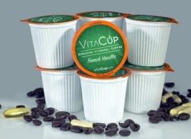 VitaCup French Vanilla Dark Roast Healthy K Cup 128ct Bulk