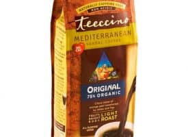 Teeccino Herbal Coffee Original Ground Light Roast Coffee 11oz