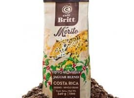 Cafe Britt Jaguar Blend Whole Bean Medium Dark Roast Coffee 12oz