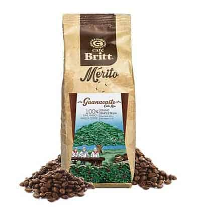 Cafe Britt Guanacaste Whole Bean Medium Roast Coffee 12oz