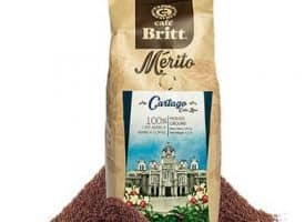 Cafe Britt Cartago Whole Bean Medium Roast Coffee 12oz