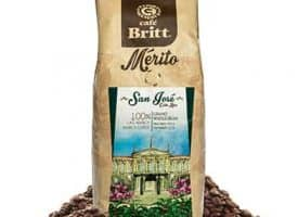 Cafe Britt San Jose Whole Bean Medium Roast Coffee 12oz