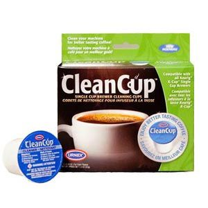 CleanCup 5 Pack Cleaning Capsules for K Cup Brewers