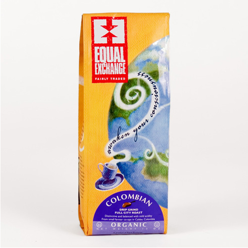 Equal Exchange Organic Colombian Ground Medium Roast Coffee 12oz