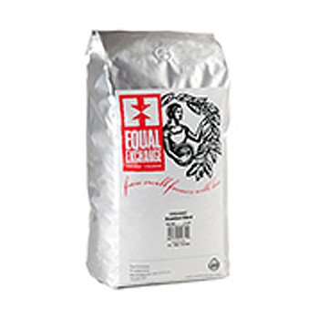 Equal Exchange Organic Ethiopian Whole Bean Dark Roast Coffee 5lb (80oz)