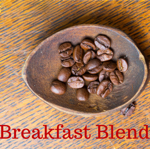 Miss Ellie's Breakfast Blend Whole Bean Fresh Light Roast Coffee 12oz
