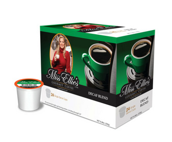 Miss Ellie's Decaf Medium RealCup Coffee Pods 24ct