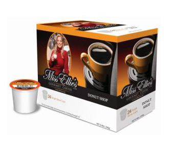 Miss Ellie's Donut Shop Medium RealCup Coffee Pods 24ct