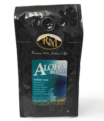 Royal Mills Aloha Blend Ground Medium Roast Coffee 10oz
