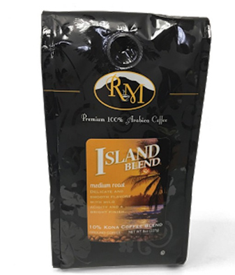 Royal Mills Island Blend Ground Medium Roast Coffee 8oz