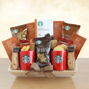 Starbucks Appreciation Coffee Gift Basket