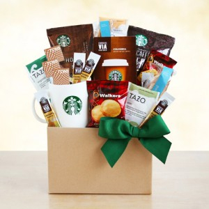 Starbucks Give Thanks with Coffee Gift Basket