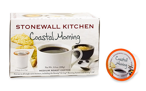 Stonewall Kitchen Coastal Morning Coffee Medium Roast Single Serve Cups 12ct