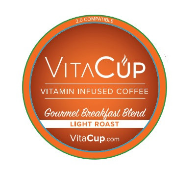 VitaCup Breakfast Blend Light Roast Healthy K Cup 16ct