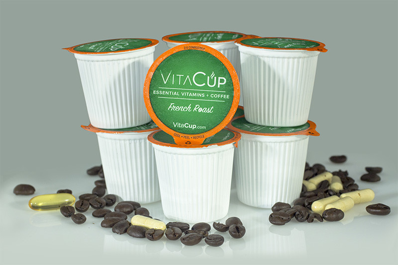 VitaCup French Roast Dark Roast Healthy K Cup 128ct Bulk