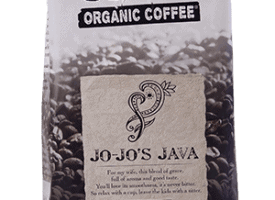 Jim's Organic Coffee Jo Jo's Java Whole Bean Light Medium Roast 5lb