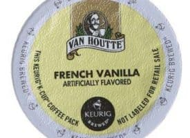 Van Houtte French Vanilla Light Roast KCups 24ct