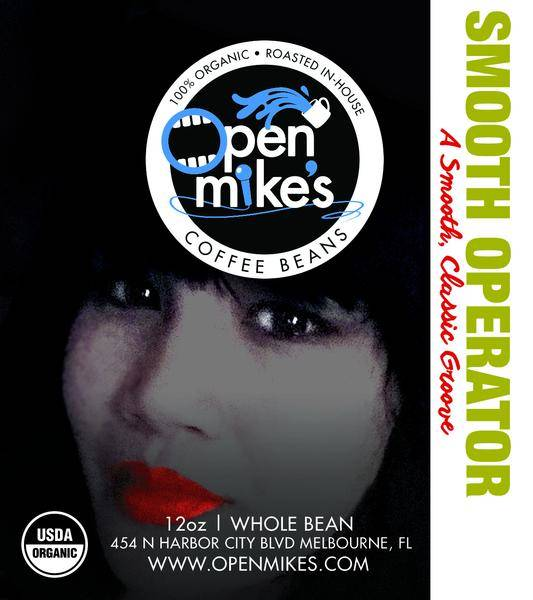 Open Mike's Coffee Smooth Operator Whole Bean Medium Roast Coffee 12oz