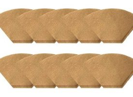 Unbleached Natural Brown Paper #4 Coffee Filters 1000ct