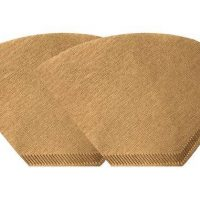 Unbleached Natural Brown Paper #4 Coffee Filters 200ct