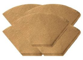 Unbleached Natural Brown Paper #4 Coffee Filters 500ct