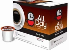All Day Gourmet Bolder Brew Dark Roast K cups®  24ct