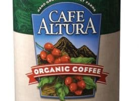 Cafe Altura Organic House Blend Ground Medium Roast Coffee 72oz