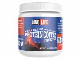 Lonolife Single Protein Coffee Kona Blend 8oz